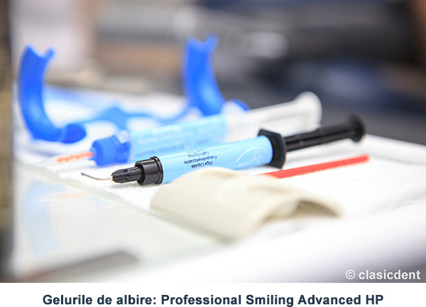 Gelurile de albire: Professional Smiling Advanced HP